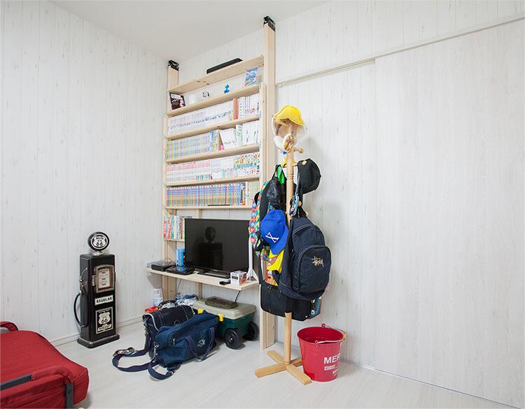子ども部屋をふた部屋とるために全体を考える